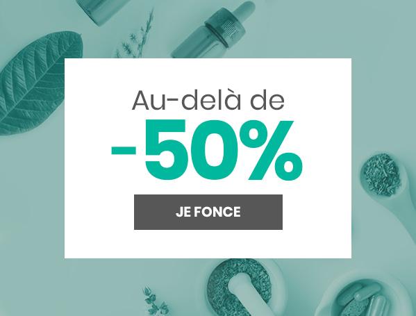 Au-delà de 50%